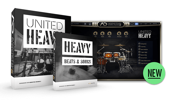 United Heavy — Hard hitting drums for heavy music