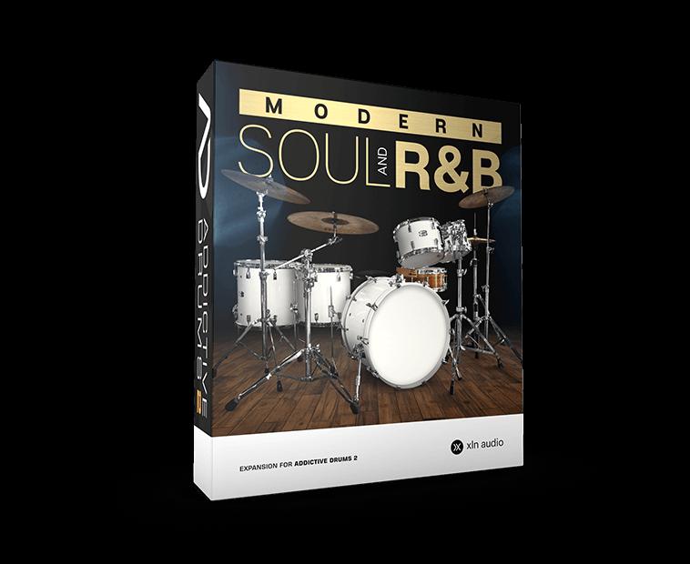 Addictive Drums2 Modern Soul And R&B ダウンロード版