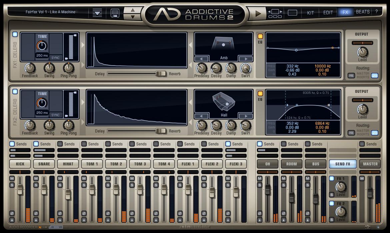 logiciel addictive drums gratuit