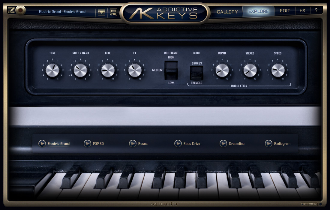 Addictive Keys: Electric Grand