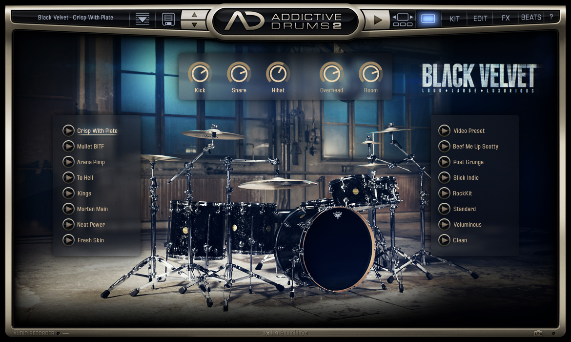Addictive Drums 2 screenshot