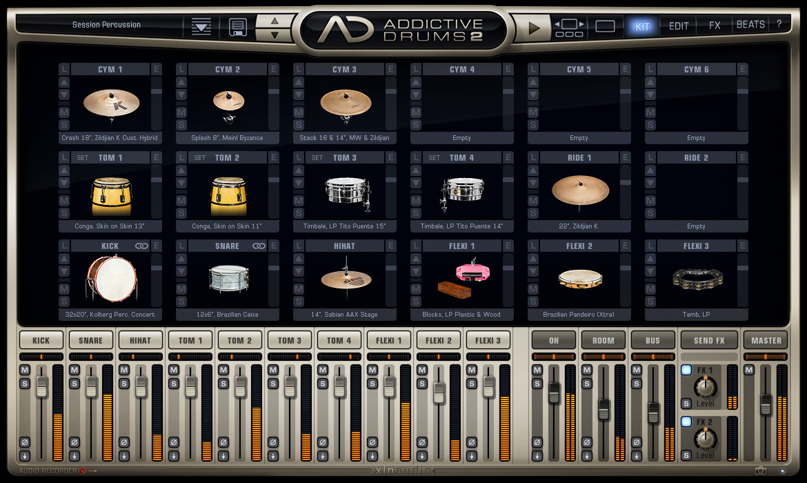 Addictive Drums 2: Beat Producer Edition screenshot