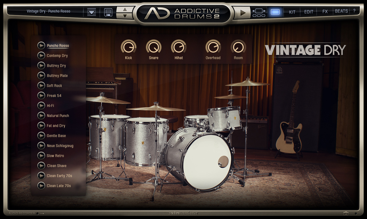 Addictive Drums 2: Creative Collection screenshot