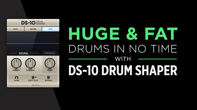 Huge & fat drums