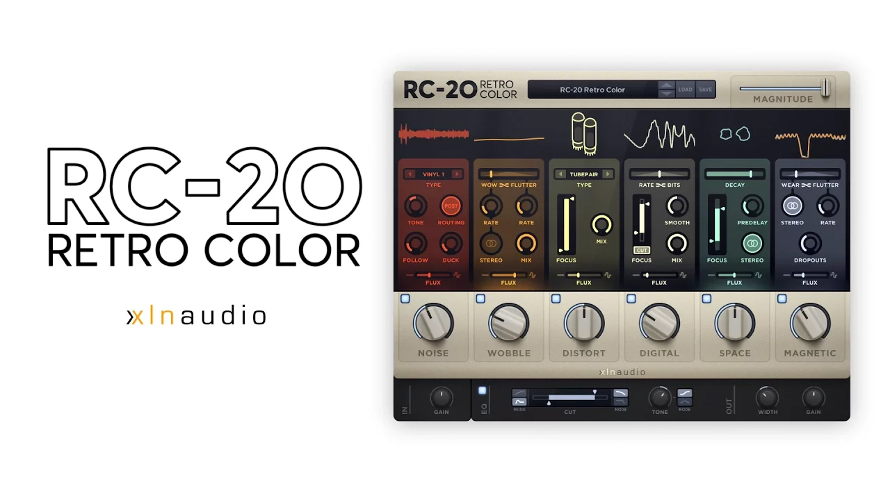RC-20 Retro Color - XLN Audio