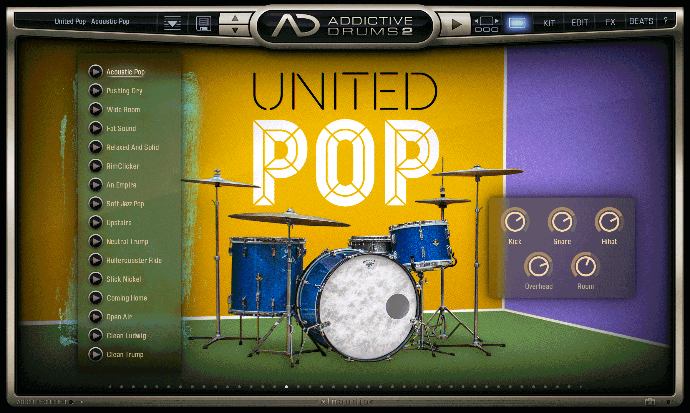 United Pop Exploremap