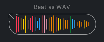 Beat as wav